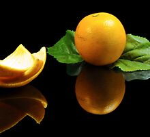 Fresh Florida Orange by carlosporto