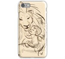 In His Presence iPhone Case/Skin