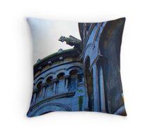Gargoyle Of Sacre Coeur Throw Pillow