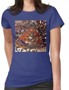 Burr Womens Fitted T-Shirt