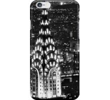 The Chrysler Building at night iPhone Case/Skin