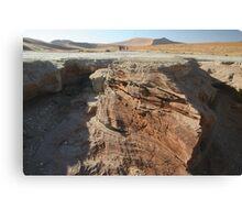 Mini canyon Canvas Print