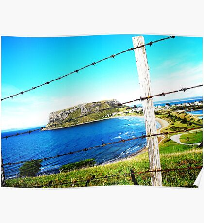 Fence at Stanley Poster