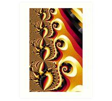 Shell Pong Carlotta Image 2 + Parameter Art Print