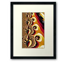 Shell Pong Carlotta Image 2 + Parameter Framed Print