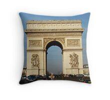 Arc De Triomphe II Throw Pillow