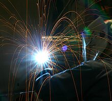 Welding Stainless Steel by njordphoto