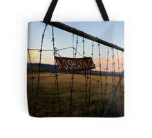 No Shooting Tote Bag