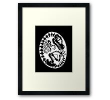 Tyrannosaurus Egg - Black Framed Print