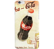 fallout vintage poster nuka cola iPhone Case/Skin