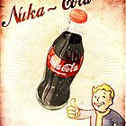 fallout vintage poster nuka cola by Eevvee