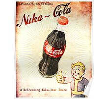 fallout vintage poster nuka cola Poster