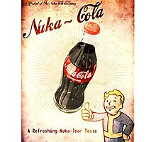 fallout vintage poster nuka cola Photographic Print