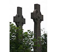Celtic Crosses Photographic Print