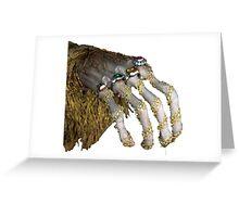 pimptastic hand Greeting Card
