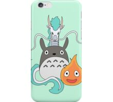 A tribute to Hayao Miyazaki (Updated) iPhone Case/Skin