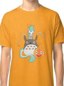 A tribute to Hayao Miyazaki (Updated) Classic T-Shirt