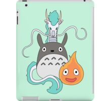 A tribute to Hayao Miyazaki (Updated) iPad Case/Skin
