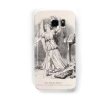 Cartoons by Sir John Tenniel selected from the pages of Punch 1901 0081 Our Protean Premier Samsung Galaxy Case/Skin