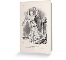 Cartoons by Sir John Tenniel selected from the pages of Punch 1901 0081 Our Protean Premier Greeting Card