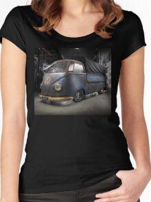 Phil Mizzi's 1954 Volkswagen Kombi Single-Cab Women's Fitted Scoop T-Shirt