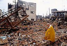 Earth quake (4), 1995  KOBE  JAPAN by yoshiaki nagashima