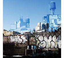 Cityscript Photographic Print