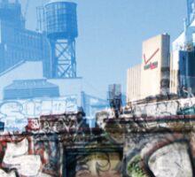 Cityscript Sticker