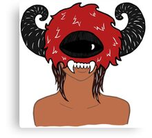 Monster Lady Ver.3 Canvas Print