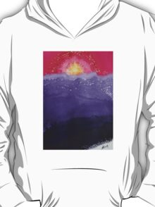 Fire on the Mountain original painting T-Shirt