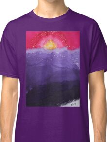 Fire on the Mountain original painting Classic T-Shirt