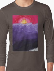 Fire on the Mountain original painting Long Sleeve T-Shirt