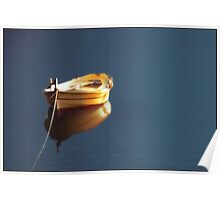 Sunset Light in the Harbour Poster