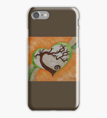 The love of a tree iPhone Case/Skin
