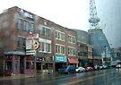 Nashville in the Rain by AuntDot