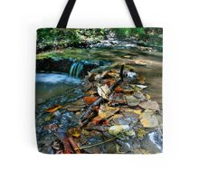 Up Stream Tote Bag