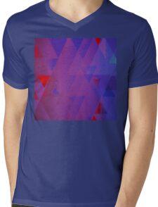 Chalk Mens V-Neck T-Shirt