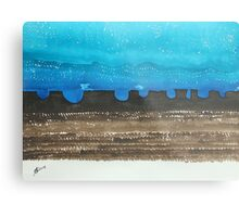 Long Dusk original painting Metal Print