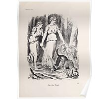 Cartoons by Sir John Tenniel selected from the pages of Punch 1901 0073 On the Trail Poster