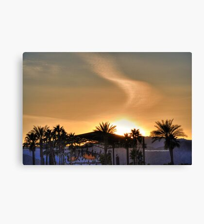 Scenes from Cali VII Canvas Print