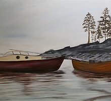 The Pilot Boats by gunnelau