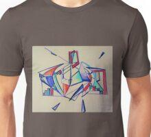 Rosie Blue Robot Unisex T-Shirt