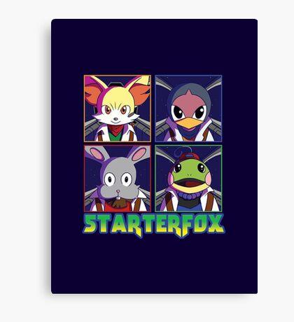 STARTERFOX: Pokemon Unit Canvas Print