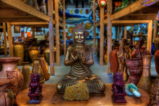 Curio Shop Buddha by Bill Wetmore