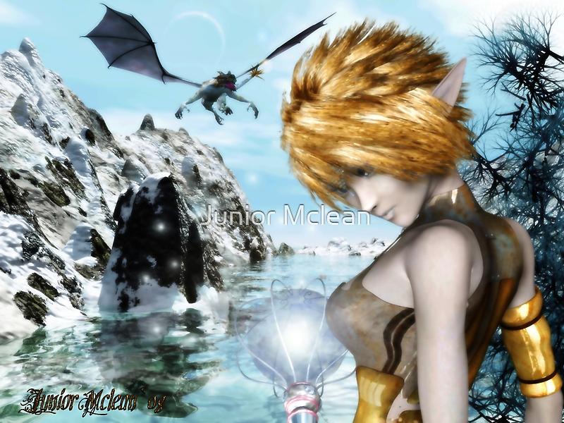 The Dragon Sorceress Apprentice by Junior Mclean