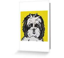 Keanu - Shih tzu Greeting Card