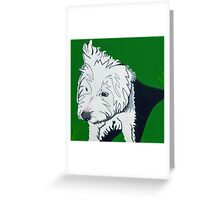 Wirehaired Jack Russell Terrier Greeting Card