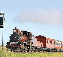 Q150 Steam Train by VigourGraphics