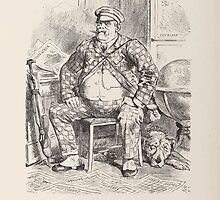 Cartoons by Sir John Tenniel selected from the pages of Punch 1901 0082 The Irrepressible Tourist by wetdryvac