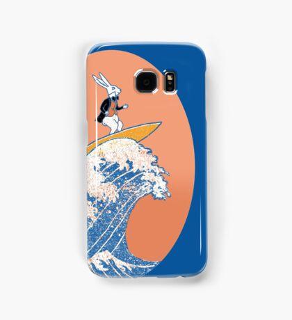 White Rabbit Surfing Samsung Galaxy Case/Skin